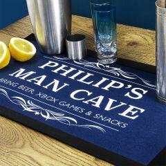 Gentlemen's Man Cave Bar Mat in 6 Colours