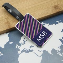 Personalised Gentlemen's Uniformed Monogrammed Luggage Tag