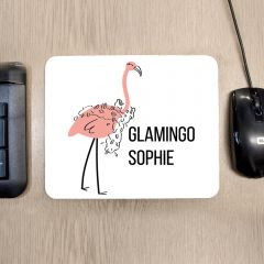 Personalised Glamingo Mouse Mat