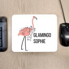 Personalised Glamingo Mouse Mat