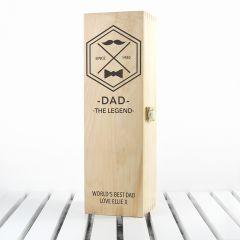 Legend Dad's Wine Box