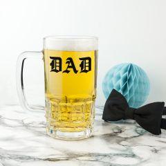 Personalised Medieval Initials Beer Tankard