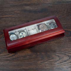 Monogram Wooden Watch Box