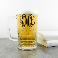 Personalised Monogrammed Beer Tankard