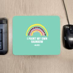 Personalised My Own Rainbow Mouse Mat