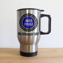 Personalised No Ordinary Dad Travel Mug