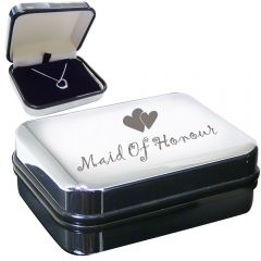 Maid of Honour Heart Necklace Box Set