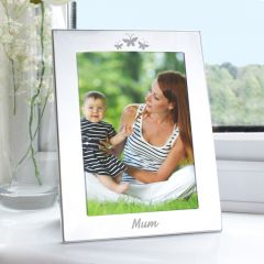 Silver Mum Photo Frame 5x7
