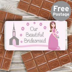 Our Fabulous Bridesmaid Chocolate Bar