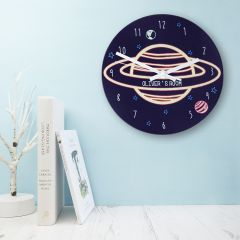 Out Of Space Personalised Wall Clock