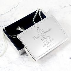 Personalised Wedding Design Maid of Honour Jewellery Box