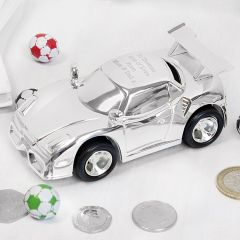 Personalised Racing Car Design Money Box