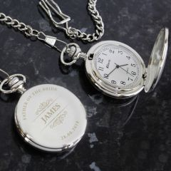 Personalised Classic Nurse's Pocket Fob Watch