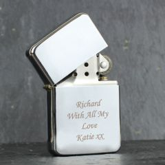 Personalised Silver Design Lighter