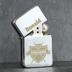 Personalised Snooker Design Lighter
