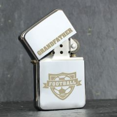 Personalised Football Design Lighter