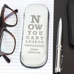 Personalised Eye Exam Design Glasses Case