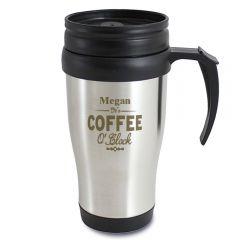 Personalised Coffee O'Clock Travel Mug