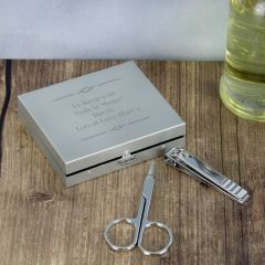 Personalised Any Message Nails Manicure Set