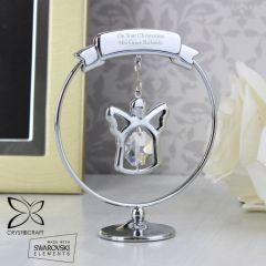 Personalised Crystocraft Angel Keepsake Ornament