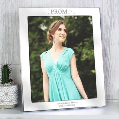 Personalised Prom Night Silver Photo Frame 10x8