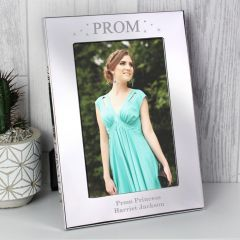 Personalised Prom Night Silver Photo Frame 6x4
