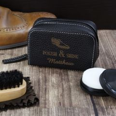 Personalised Polish & Shine Shoeshine Kit