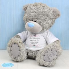 Me To You Personalised Girl's Teddy with T-Shirt: for Bridesmaid and Flowergirl