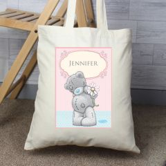 Personalised Me To You Teddy with Daisy Cotton Tote Bag