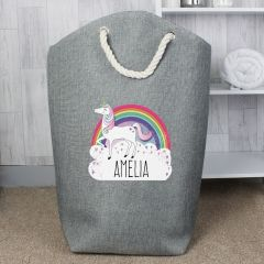 Personalised Unicorn Design Tidy Bag