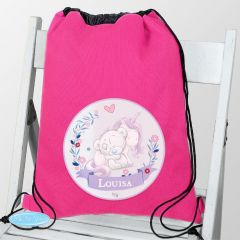 Personalised Tiny Tatty Teddy Bear Unicorn Swim & School Bag