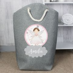 Personalised Fairy Princess Design Tidy Bag