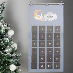 Personalised Swan Lake Felt Advent Calendar