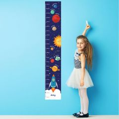 Personalised Solar System Childrens Height Chart