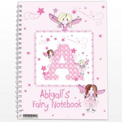 Personalised Fairy Design Notebook