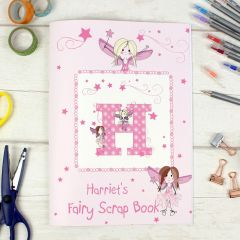 Personalised Fairy Design Scrapbook A4