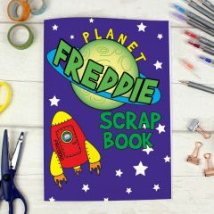 Personalised Space Design Scrapbook A4