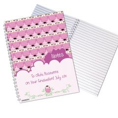 Personalised Miss Owl Teacher Notebook