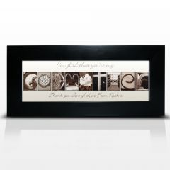 Personalised Affection Art Design Godmother Small Frame