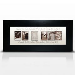 Personalised Affection Art Design Mr & Mrs Small Frame