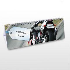 Personalised Vehicles Design Desk Calendar