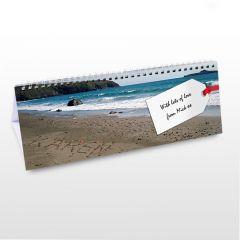 Personalised Coast Design Desk Calendar