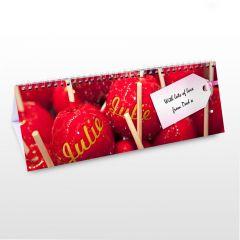 Personalised Sweet Tooth Design Desk Calendar