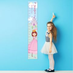 Personalised Fairy Tale Princess Childrens Height Chart