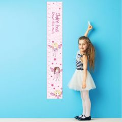 Personalised Fairy Childrens Height Chart