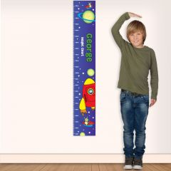 Personalised Space Childrens Height Chart