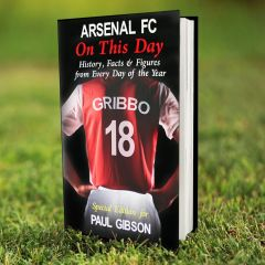 Personalised Arsenal Events On This Day Book