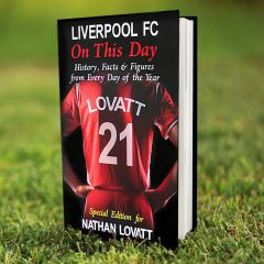 Personalised Liverpool Events On This Day Book