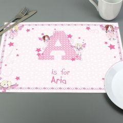 Personalised Fairy Design Placemat