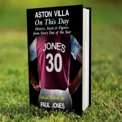 Personalised Aston Villa Events On This Day Book